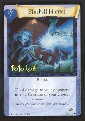 Harry Potter CCG PROMO Bluebell Flames Trading Card Game Mint Sealed Rare TCG