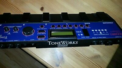 KORG ToneWorks AX300G Guitar Multi-Effects Signal Processor + Netzteil