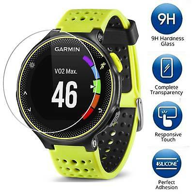 3-PACK Tempered Glass Screen Protector Guard For Garmin Forerunner 235