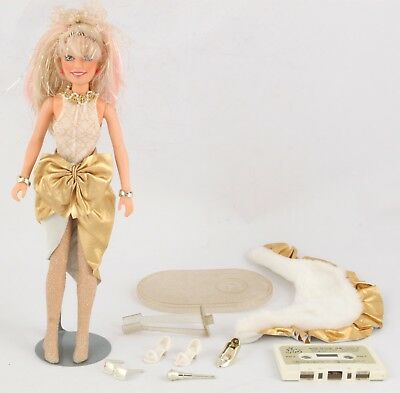 Hasbro Vintage JEM and the Holograms Glitter N Gold doll parts accessories 1987