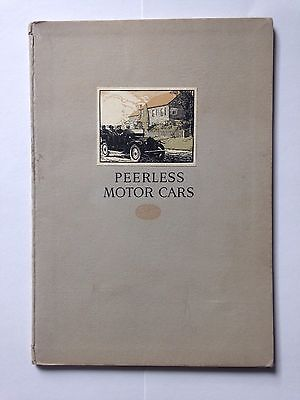 1913 Peerless Motor Cars Catalogue - Brochure