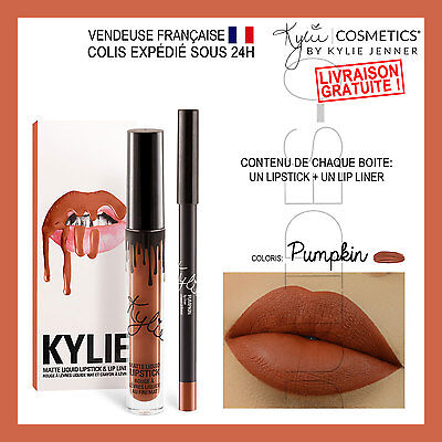 Maquillage make up Lip kit KYLIE JENNER 2017 Lipstick PUMPKIN Longue Durée