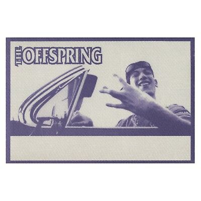 The Offspring authentic 1998 Americana Tour satin Backstage Pass crew purple