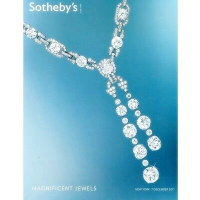 Sotheby's New York 2011 - MAGNIFICENT JEWELS- Top Sale  ! ! ! ! !