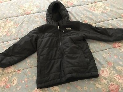 THE NORTH FACE Reversible Hooded Jacket Boys Size 6- XS