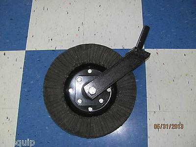"""Howse Cutter Tailwheel Assembly Complete, 1-1/4"""" Shank, Greasable Bushing Type"""
