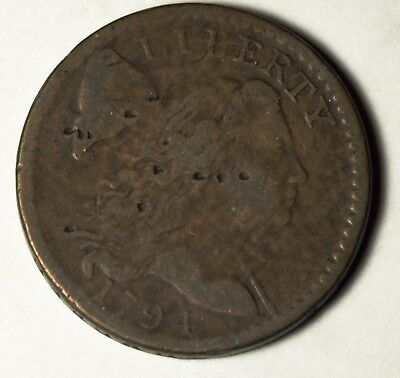1794 1C S-59 Flowing Hair Large Cent