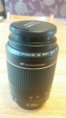 Canon EF 55-200mm f/4.5-5.6 Zoom Lens