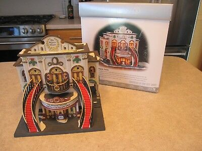 Department 56 - Christmas in the City - Majestic Theater -*missing light cord*