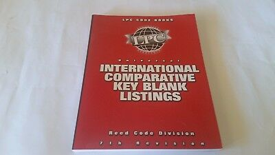 LPC Code Book / International Comparative Key Blank Listings 7th Revision