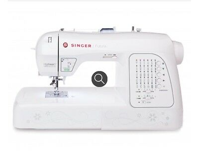 SINGER Futura Quintet Sewing Embroidery Machine 4040 PicClick Beauteous Singer Futura Ses1000 Embroidery Sewing Machine