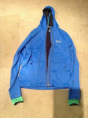 Gore Windstopper Running Jacket small blue
