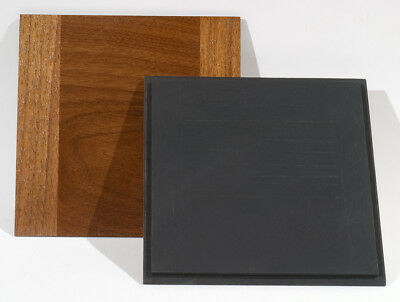 """1 Lens Board 162x162mm for CENTURY 11x14"""" Camera, Made of Solid Walnut,free hole"""