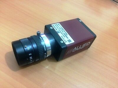 Allied Vision Tech Marlin F-080B IRF 30fps Camera With PENTAX 25mm 1:1.4 Lens