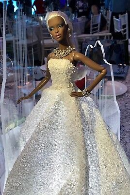 "Integrity Toys FASHION FAIRYTALE ""Frosted Glamour"" Adele Makeda Convention Doll"