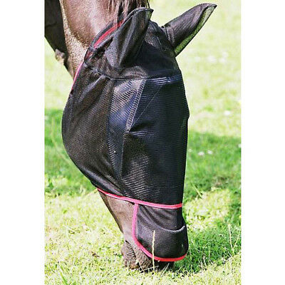 Equilibrium Field Relief Max Unisex Horse Healthcare Fly Mask - Black All Sizes