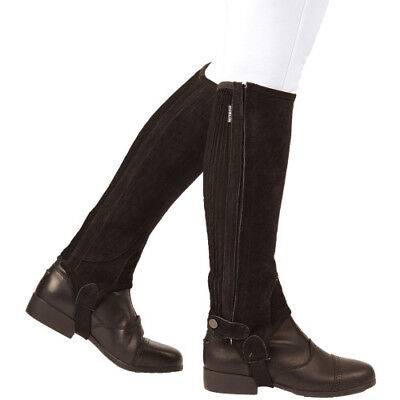 Dublin Adults Suede Half Unisex Footwear Chaps - Brown All Sizes