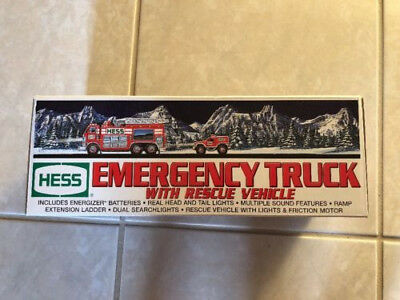 Hess 2005 Emergency Truck with Rescue Vehicle - New