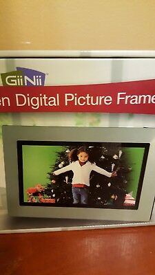"""8"""" Widescreen Digital Picture Frame Gii Nii - NEW IN BOX"""