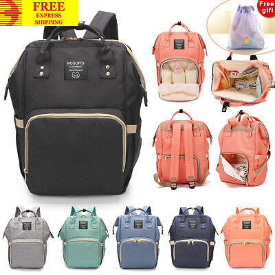 Top Multifunctional Large Backpack Baby Diaper Mommy Changing Bag Mummy Nappy