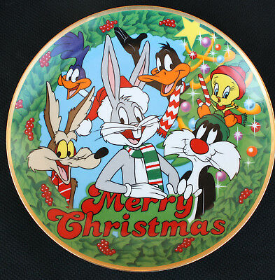 Looney Tunes Merry Christmas Limited Edition Plate 1991