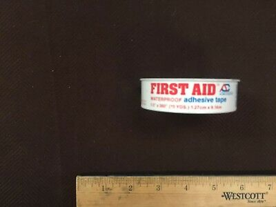 VTG Metal First aid tape for bandages.  Display only, see photos for more detail