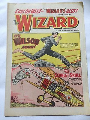 DC Thompson. THE WIZARD Comic September 1st 1962. Issue 1907 *Free UK Postage*