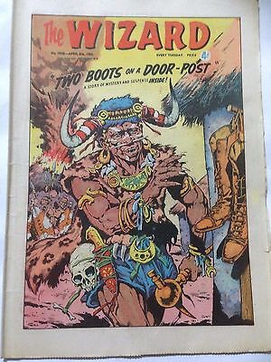 DC Thompson. THE WIZARD Comic April 6th 1963. Issue 1938 *Free UK Postage*