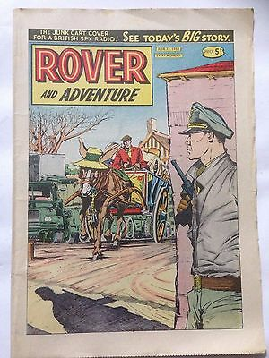 DC Thompson. ROVER & ADVENTURE Comic June 22nd 1963 **Free UK Postage**