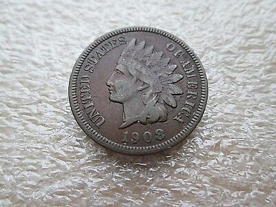 1908-S 1C Indian Head Cent semi-key date (encapsulated)