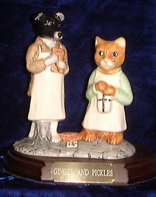 Beswick Beatrix Potter tableaux Ginger and Pickles