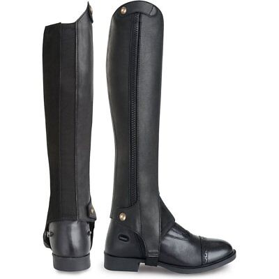 Tredstep Liberty Side Zip Half Unisex Footwear Chaps - Black All Sizes