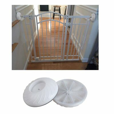 2 Pack Wall Bumpers Guard Fit for Bottom Gates - Baby gate Wall Protection Cup -