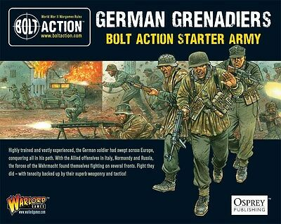 Warlord Games Bolt Action German Grenadiers 1000 Point Starter Army WGB-START-02