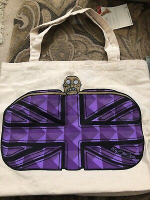My Other Bag Canvas Tote $58 Retail New! 16in x 17in