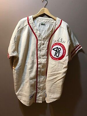 Spike Lee Vintage SIGNED!!! 40 Arces and A Mule Baseball Jersey 1980's