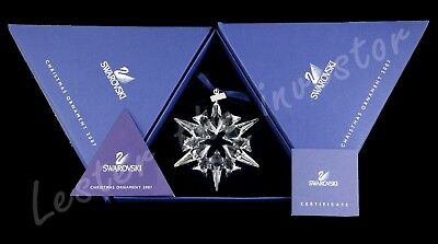 Rare 2007 Swarovski Christmas Snowflake Ornament,New-Mint condition, Large