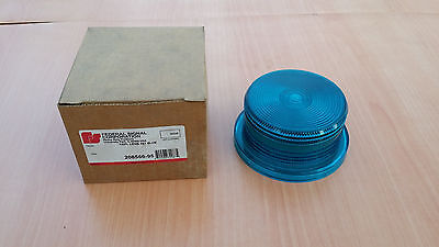 Vintage NOS Dome Lens Federal Signal corporation 208566-95 replacement lens 451