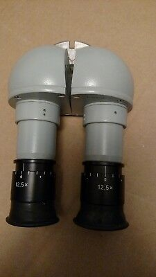 Zeiss 45 ° Binocular for surgical microscope f = 125/16 binocular 12.5x