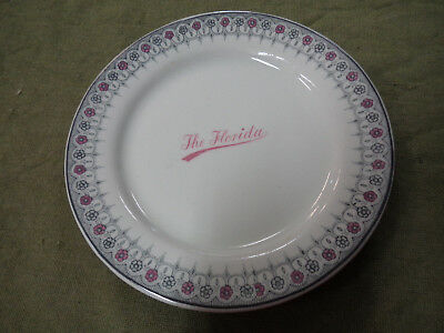 #cc10.  Advertising Grdley Hotel Ware Plate - The Florida