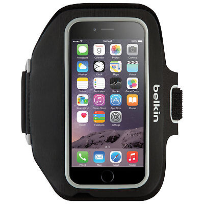 Belkin Sport-Fit Plus Armband iPhone 6 7 8 Plus Sports Gym Jogging Running Case