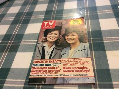 1979  Tv Guide Magazine