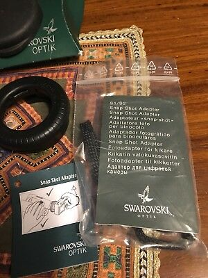 Swarovski Optik Snap Shot Digital Camera Adapter S4 Binoculars Digiscoping