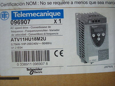 Telemecanique Schneider Electric 1 Hp Ac Variable Frequency Electric Motor Drive