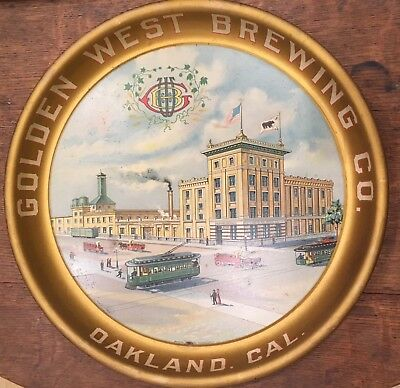 Golden West Brewery Pre-Pro Beer Factory & Trolleys Oakland California Gorgeous