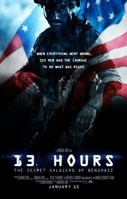 13 HOURS great original D/S 27x40 movie poster (s01)