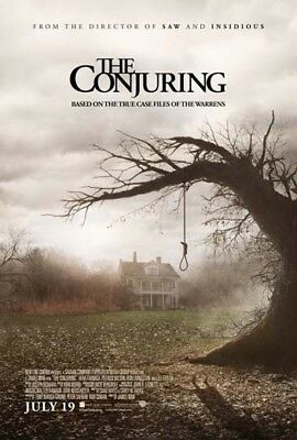 THE CONJURING great original D/S 27x40 movie poster 2013 (s01)