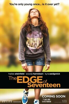 THE EDGE OF SEVENTEEN great original 27x40 D/S movie poster (s01)
