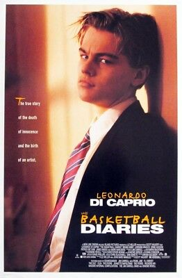 THE BASKETBALL DIARIES original 27x40 rolled movie poster 1995 (s01-25)