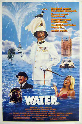 WATER great original 27x40 rolled movie movie poster 1985 LAST ONE (s01-24)